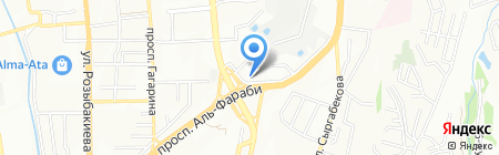 Farabi HALL на карте Алматы
