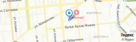 ТриАл на карте Алматы