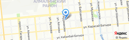 Сара на карте Алматы