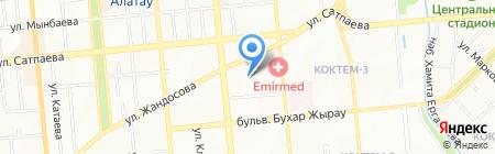 MD System на карте Алматы