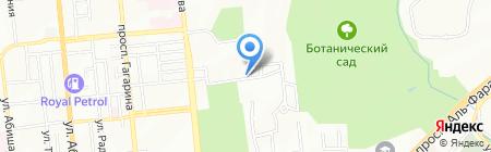 Дело вкуса на карте Алматы