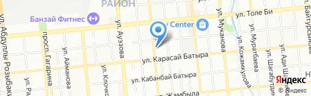 Галатея на карте Алматы