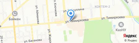 PhotoService на карте Алматы