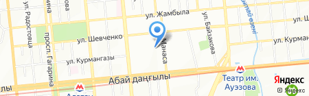 Alfa-Engeeniring Group на карте Алматы