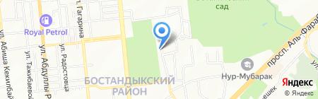 Комарик на карте Алматы