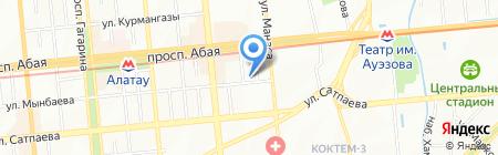 ЦФТ Азия на карте Алматы