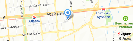 Позитив Securities на карте Алматы