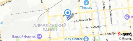 Изобилие А.Т. на карте Алматы