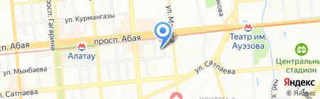 Экоинструмент-Алматы на карте Алматы