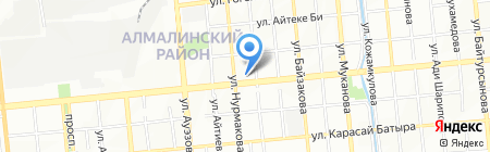 COSMED на карте Алматы