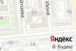 Схема проезда до компании Ак Жол Tour в Алматы