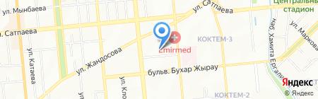 Alkor Group на карте Алматы
