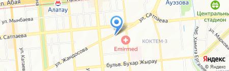 Алматыкультбытстрой АО на карте Алматы