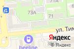 Схема проезда до компании Apartamenty.kz в Алматы