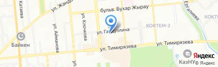 Интерфрахт на карте Алматы