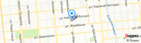Raimbek Bottlers на карте Алматы