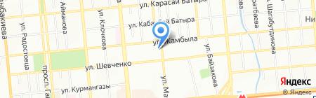 Максима Логистикс Казахстан на карте Алматы