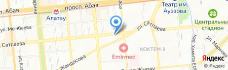 Казахский НИИ экономики агропромышленного комплекса и развития сельских территорий на карте Алматы