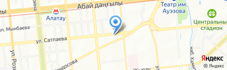 Восток-Экология на карте Алматы