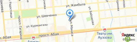 Azmed на карте Алматы