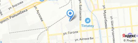 Прохлада на карте Алматы