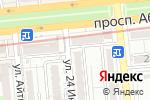 Схема проезда до компании Белая река в Алматы