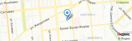 Астана Капитал Инвест АО на карте Алматы