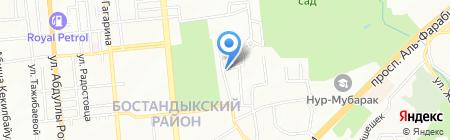 La charlotte на карте Алматы