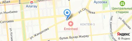 Fashion Man на карте Алматы