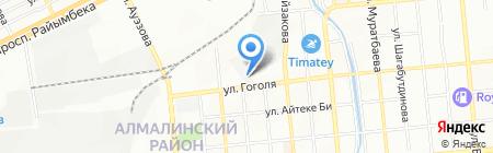 Caspian Beverage Holding на карте Алматы