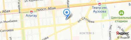 БЭСТ на карте Алматы