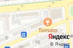 Схема проезда до компании Банк ЦентрКредит в Алматы