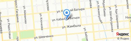 Фибоначчи на карте Алматы