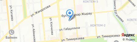 A-Construction на карте Алматы