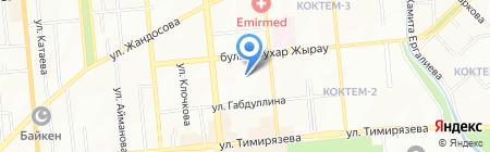 НТБ Технопром на карте Алматы