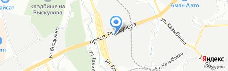 ТЖД-МОК на карте Алматы