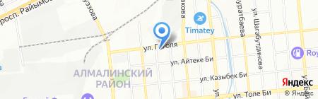 Абсолют-Авто на карте Алматы