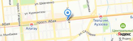 T & M на карте Алматы