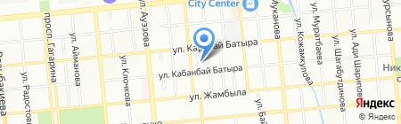 Маленькая страна на карте Алматы