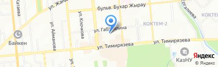 ИВЦ ТОО на карте Алматы