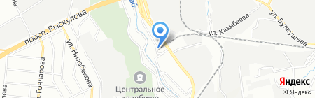 Элсан Мастер на карте Алматы