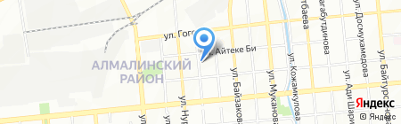 TOP WORLD на карте Алматы