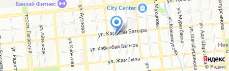 Интеррин на карте Алматы