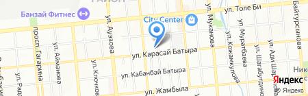 Adelante Advertising на карте Алматы