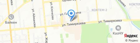 Бауыржан на карте Алматы