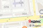 Схема проезда до компании Crea`tif в Алматы