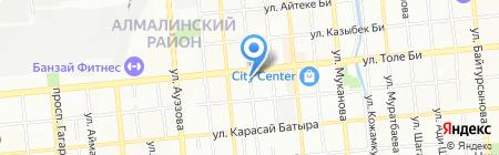 City Travel & Tour на карте Алматы
