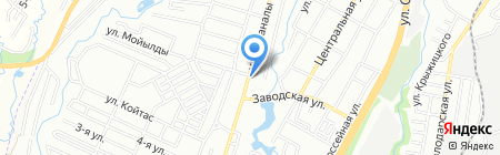 АЗС Сервис на карте Алматы