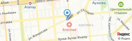 Аско АО на карте Алматы