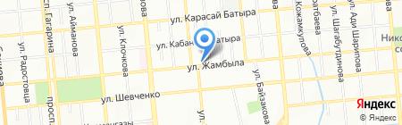 Куан на карте Алматы
